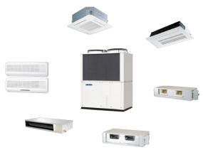 دسته بندی انواع سیستم های تهویه مطبوع ساختمان