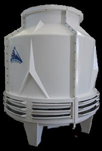 برج خنک کننده فایبرگلاس مخروطی تهویه دماوند