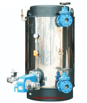 بویلر آب گرم عمودی دابو صنعت